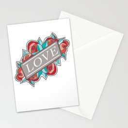 Love & Roses Stationery Cards