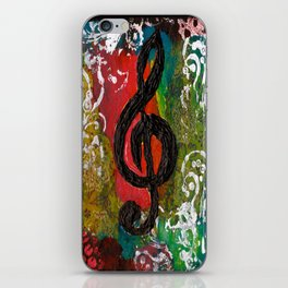 Create Music  iPhone Skin