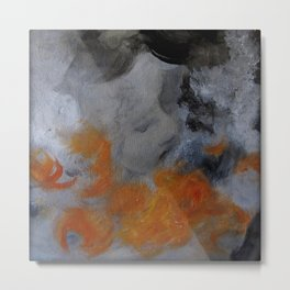empty hurricane fires Metal Print