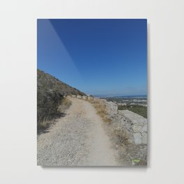 Way in the Montgó Metal Print