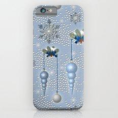 Xmas Balls & Snow iPhone 6s Slim Case