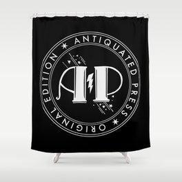 AP CHOP DARK Shower Curtain