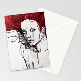 in the flesh Stationery Cards