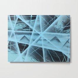 PYRAMIDS Metal Print