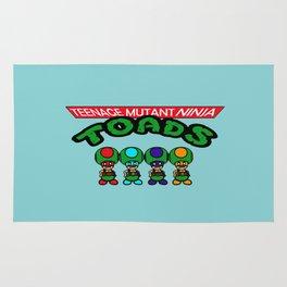 Teenage Mutant Ninja Toads Rug