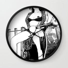 asc 421 - La virée (The joy ride) Wall Clock