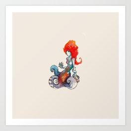 Octomaiden Art Print