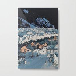 Onsen Metal Print