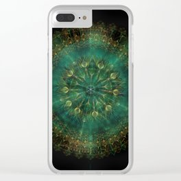 Grow A Pattern Clear iPhone Case