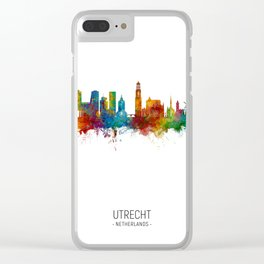 Utrecht The Netherlands Skyline Clear iPhone Case
