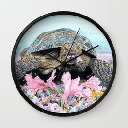 Roxie the Turtle Wall Clock