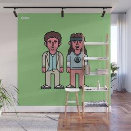 Pineapple Bros Wall Mural