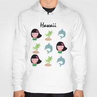 hawaii Hoodies featuring hawaii by Sucoco