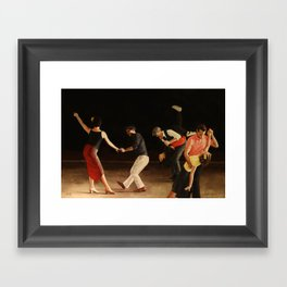 End of Song Framed Art Print