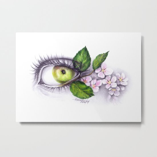 Apple of my eye Metal Print