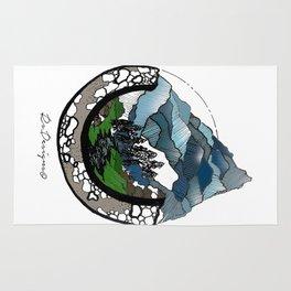 Mountainscape Colour Rug