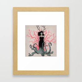 Nature is ancient Framed Art Print