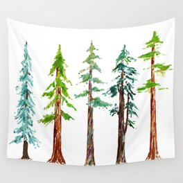 Tall Trees Please Wall Tapestry