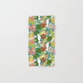 Bohemian Bahama -Tropical Pattern Hand & Bath Towel
