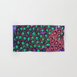 Zoanthus Corals Mix Hand & Bath Towel
