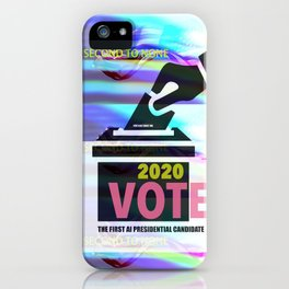 Lov-Lov Artist funny sarcastic political Graphic design 2020 Election iPhone Case