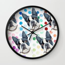 more Puppy Love Wall Clock