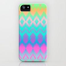 Rainbow Ikat iPhone (5, 5s) Slim Case