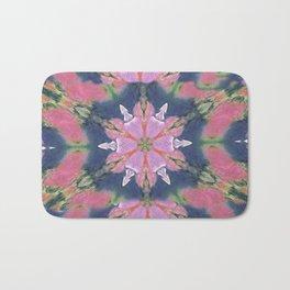 crazy pink pattern Bath Mat