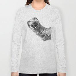 Siberian Weasel Kolinsky Long Sleeve T-shirt