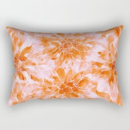 The Smell of Spring 3 / Monochrome / Apricot Rectangular Pillow