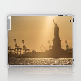 """Lady Liberty 2"" by Murray Bolesta Laptop & iPad Skin"