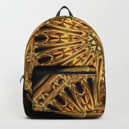 Earth Crystal Mandala Backpack