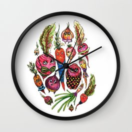 Roots in Suits Wall Clock