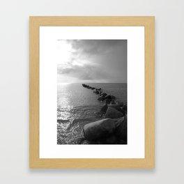 Seeblick Framed Art Print