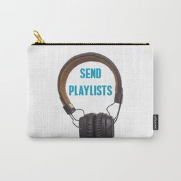 Send Playlists Carry-All Pouch