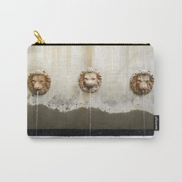 Three Lions Fountain Carry-All Pouch