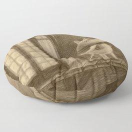 Taikatalvi Floor Pillow