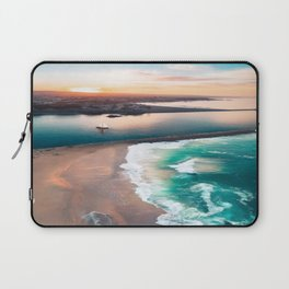 Sky view for the beach in the sunset Laptop Sleeve