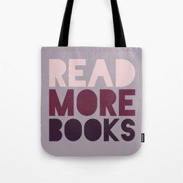 Read More Books (Purple) Tote Bag