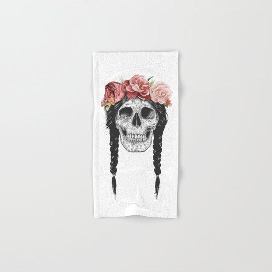 Festival skull Hand & Bath Towel