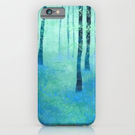 Bluebells, Challock iPhone Case