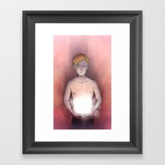 Shiny Box Framed Art Print