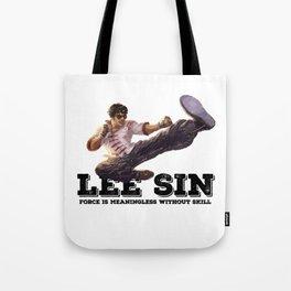 LEE SIN - League of Legends [marker sketch] Tote Bag