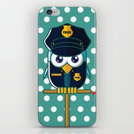 Police Bird iPhone Skin