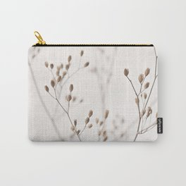 WILDFLOWERS NATURAL BEIGE 1 Carry-All Pouch
