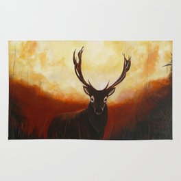 King of the forest Rug