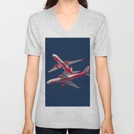 Air Berlin Perfect Cross Unisex V-Neck