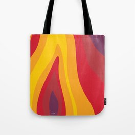 SALAMANDER- FIRE Tote Bag