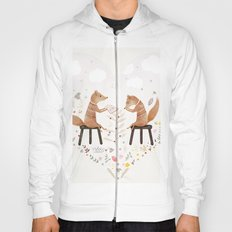 fox philosophers Hoody
