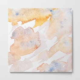 Watercolor abstract patterns that do not exist.Actually there are many color patterns.No.68 Metal Print